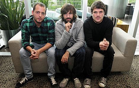 Los integrantes de 'El canto del loco' en México DF. I Efe