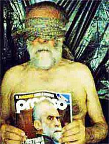 La supuesta foto del 'jefe Diego'.