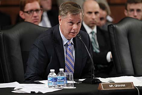 El republicano Lindsey Graham, senador por Carolina del Sur. | AP