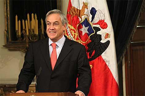 El mandatario chileno, Sebastián Piñera. | Jorge Barreno