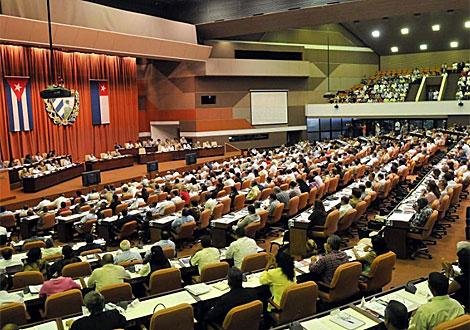 La reunión del Parlamento el domingo. | Efe