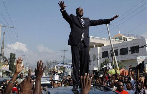 Wyclef Jean recibe el apoyo del pueblo haitiano. I Reuters