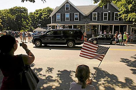 Bienvenida a la familia Obama en West Tisbury, | Reuters