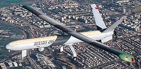 Imagen de un Hermes igual al que usa México contra la delincuencia organizada.