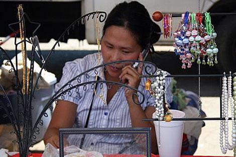 Una de las vietnamitas que residen en EEUU. | Suso Mourelo
