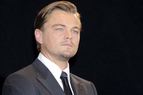 Leonardo DiCaprio en la presentación de su última película. | Gtres
