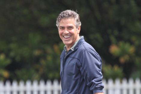 George Clooney disfrutando de una sesión de deporte. | Foto: Gtres