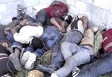 Varios de los inmigrantes asesinados en el rancho de Tamaulipas. | Reuters