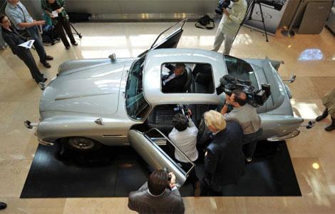 El Aston Martin de James Bond. I AFP