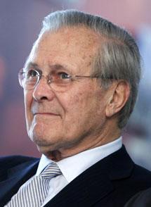 Donald Rumsfeld. | AP