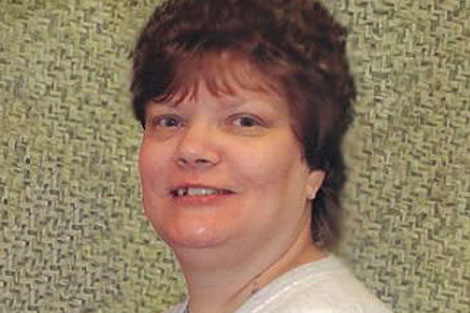 Teresa Lewis, condenada a la pena de muerte por doble asesinato.   AP