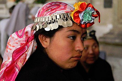 Una joven mapuche. | Jorge Barreno
