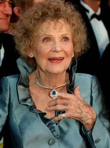 Gloria Stuart en 1998. I AFP