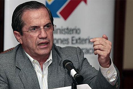 El canciller de Ecuador, Ricardo Patiño. | Efe
