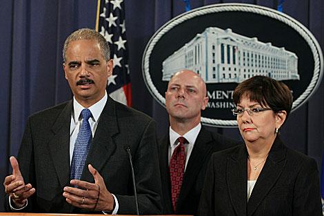 Eric Holder, secretario de Justicia de Estados Unidos, declara sobre el operativo. | AFP