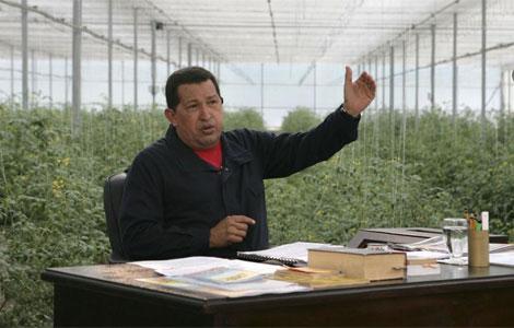 Chávez en su programa 'Alo Presidente'. I Reuters