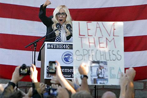 La cantante Lady Gaga apoyaba la suspención de la ley. | Efe