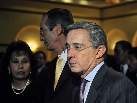 El ex presidente de Colombia, Álvaro Uribe.   Efe