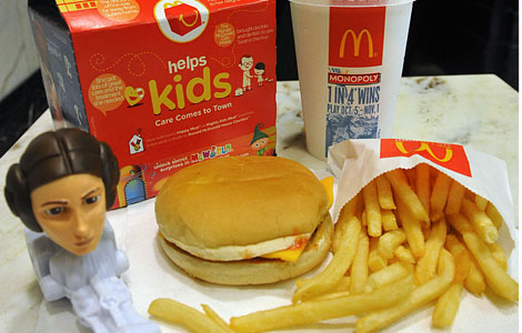 Un 'Happy meal'. I Efe