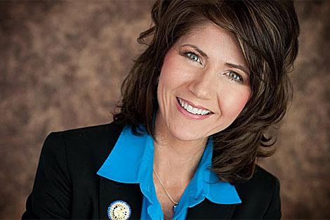 Kristi Noem, candidata de Dakota del Sur a la Cámara de Representantes. | kristiforcongress