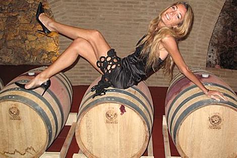 A. Rotondi creadora del Wine Seduction.  ELMUNDO.es