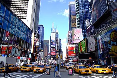 Nueva York en hora punta.| glavstravel.com