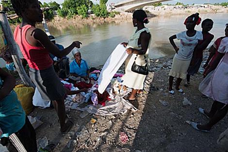 El número de muertos por cólera, hasta ahora,es de 305.| AFP