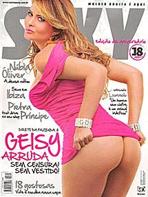 Portada de la revista 'Sexy'.