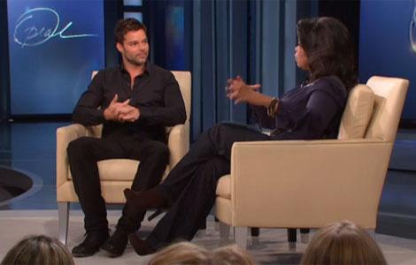 Ricky Martin en el programa de Oprah. I ELMUNDO.es