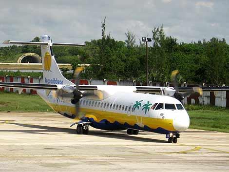 Imagen de archivo del avión siniestrado.  Diario de Cuba