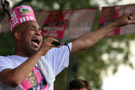 El candidato a la presidencia Michel Martelly. | Reuters