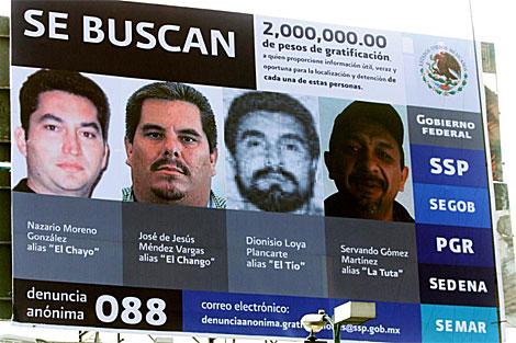 Moreno González era el primero en la lista de los más buscados.   Efe