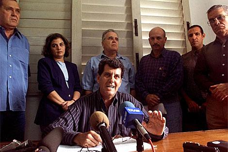 Conferencia de prensa de los principales dirigentes de la disidencia. | Archivo
