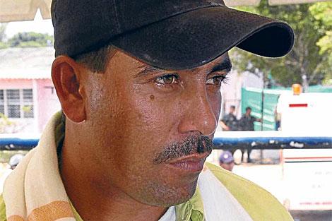 El narcotraficante Pedro Guerrero, alias 'Cuchillo' en febrero de 2009. | Foto cedida por 'El Tiempo'