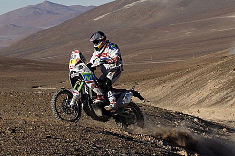 Francisco López corre en el Dakar. | Reuters