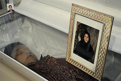 El cuerpo de Susana Chávez. | Reuters