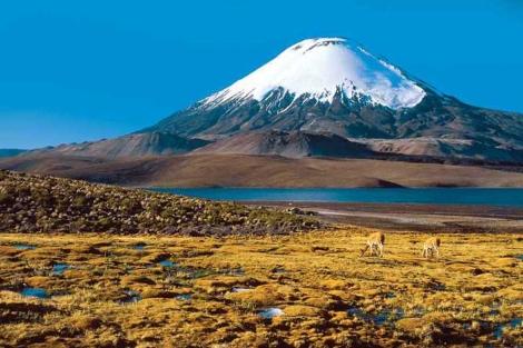 El volcán 'Ojos del Salado'. | visitichile.com