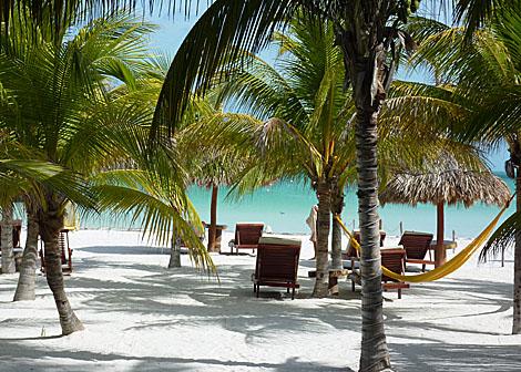 Imagen de una playa de la isla mexicana de Holbox. | I. Longhi-Bracaglia