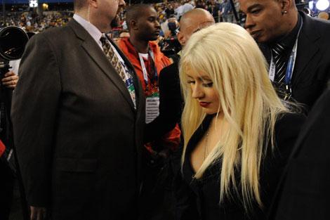 Christina Aguilera. I Efe