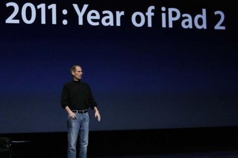 Steve Jobs en la presentación del Ipad 2. I Efe