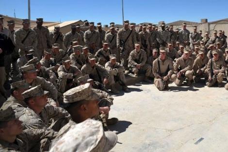 Soldados estadounidenses en Arfganistán. | Efe