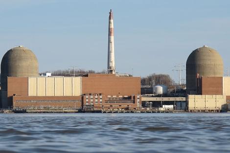 La central nuclear de Indian Point.   C.F.
