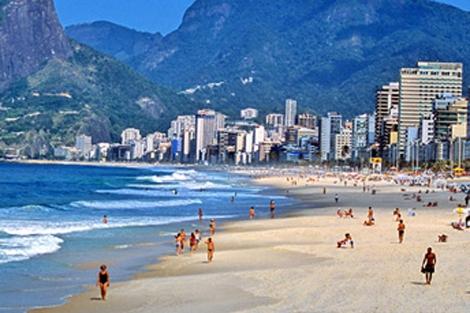 Playa de Ipanema, Rio de Janeiro   Embratur