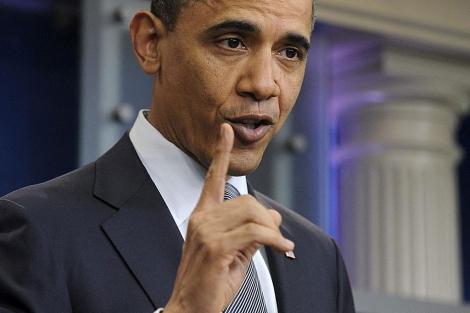 El presidente Barack Obama habla sobre el presupuesto en la Casa Blanca. | Efe