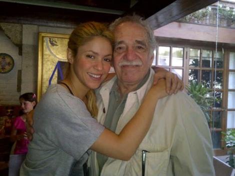 La foto que ha publicado Shakira en Twitter para contar sobre su encuentro con 'El Gabo'