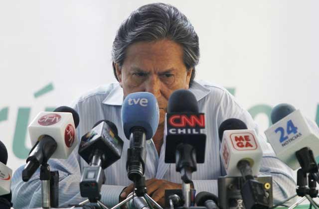 El ex presidente peruano y candidato presidencial Alejandro Toledo. / Reuters