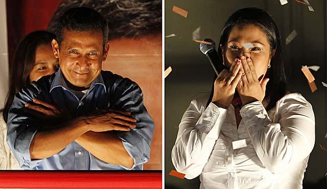 Ollanta Humala y Keiko Fujimori. | Reuters
