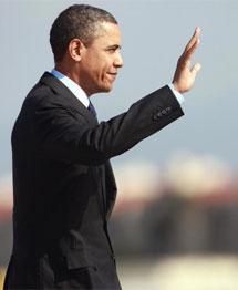 Obama.   AP