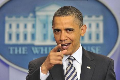 Obama, en rueda de prensa en la Casa Blanca. | AFP