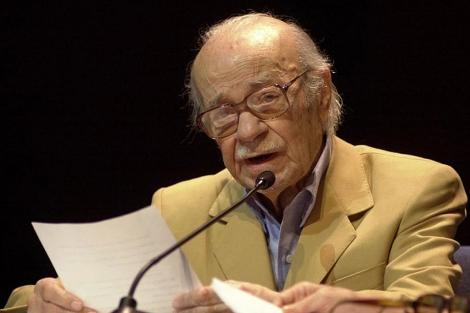 Sabato en un acto en Caracas en 2002. | AP